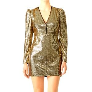 Rebecca Minkoff Sydney Sequin Mini Dress Sz 4